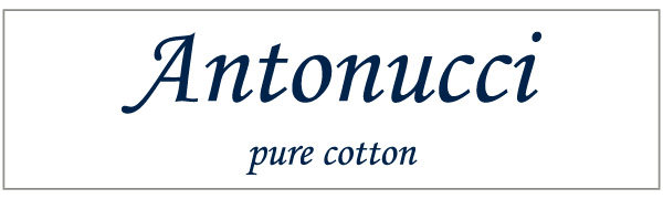 ANTONUCCIピュアコットンブランドロゴ