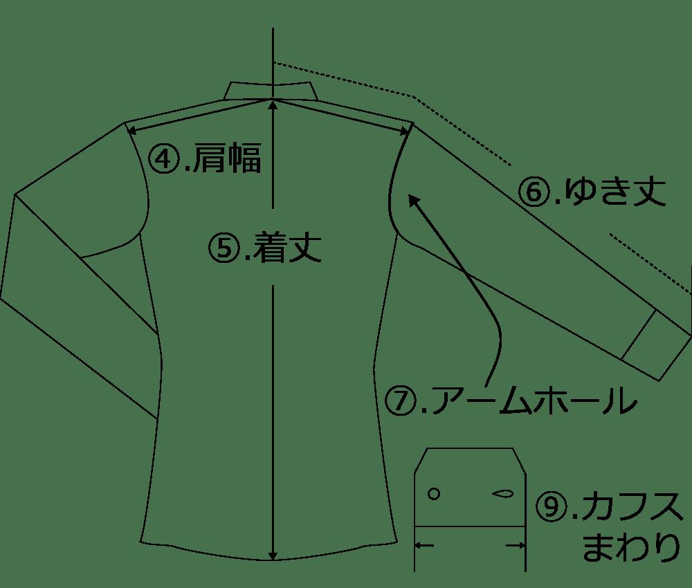 測り 方 肩幅